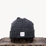 Upstate Stock Upstate Stock Black Melange Wool Beanie