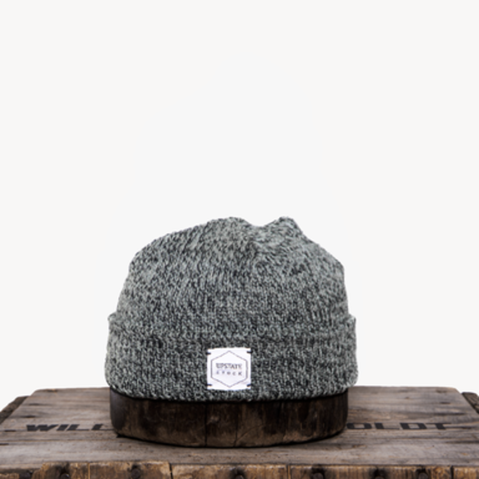 Upstate Stock Upstate Stock Charcoal Melange Wool Beanie