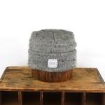 Upstate Stock Upstate Stock Grey Tweed Melange Wool Beanie