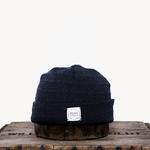 Upstate Stock Upstate Stock Navy Melange Wool Beanie