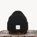 Upstate Stock Upstate Stock BlackEco-Cotton Watch-cap knit in NY