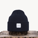 Upstate Stock Upstate Stock Navy Eco-Cotton Watch-cap knit in NY