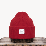 Upstate Stock Upstate Stock Red Eco-Cotton Watch-cap knit in NY