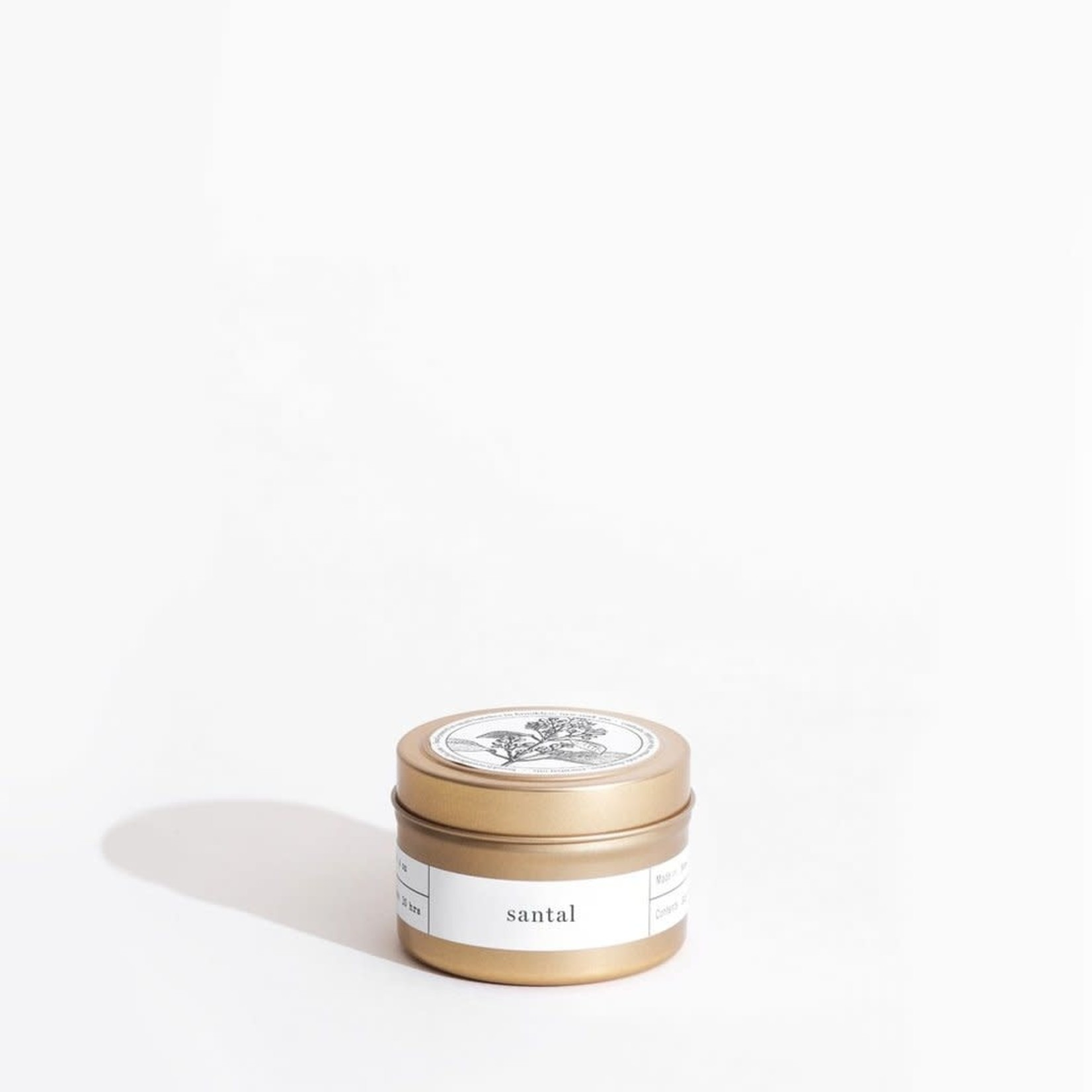 Brooklyn Candle Studio Brooklyn Candle Studio Santal Gold Travel Tin Candle