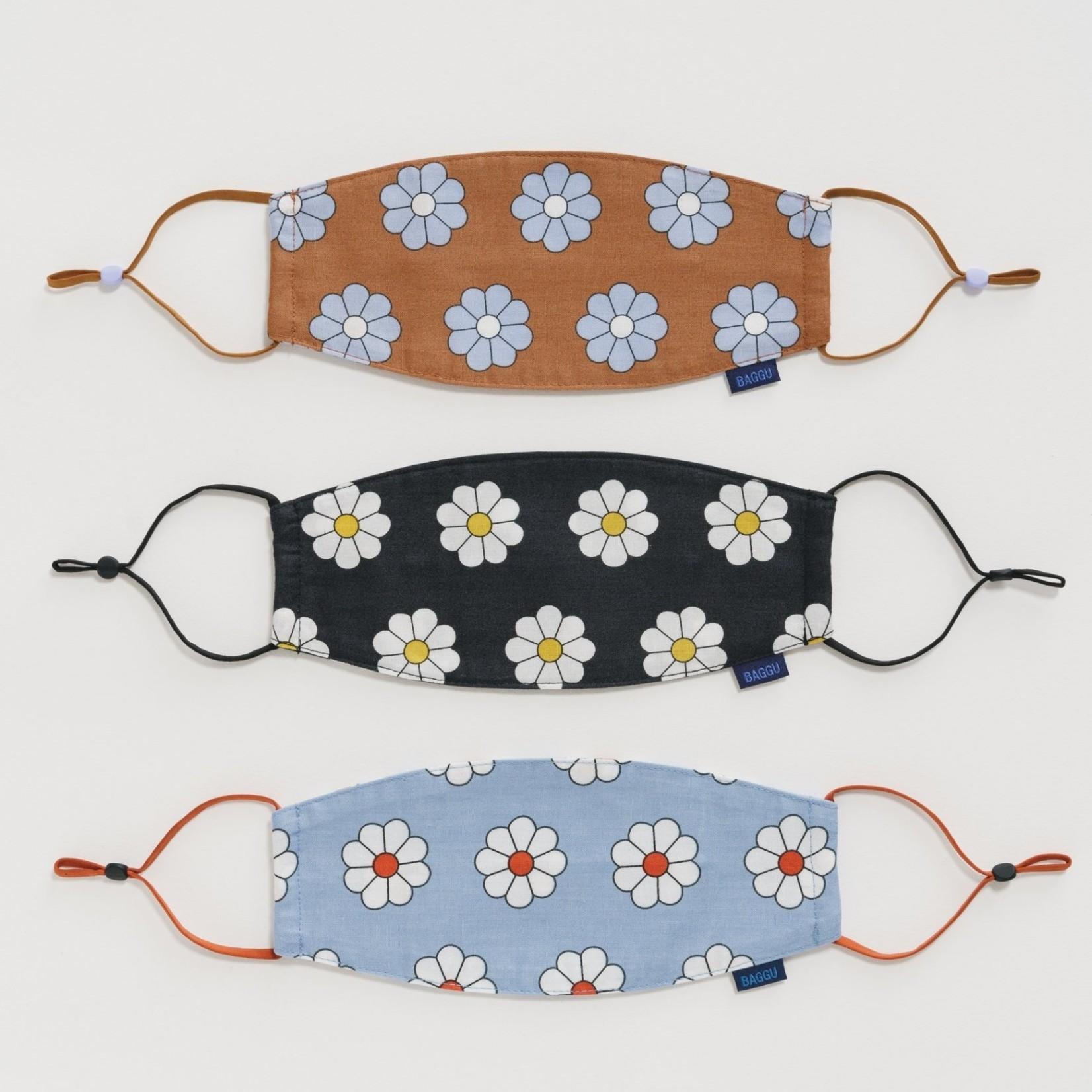 Baggu Baggu Fabric Mask Daisy Set of 3 - Loop