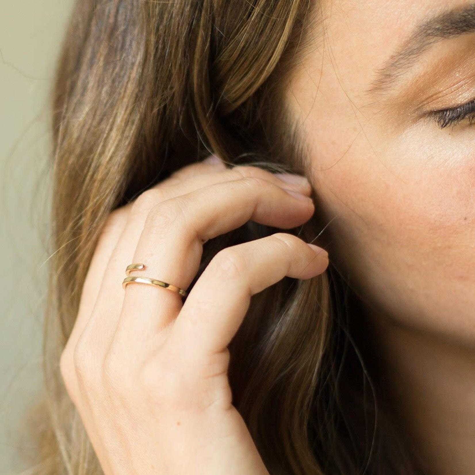 Honeycat Jewelry Honeycat Marigold Wrap Around Ring