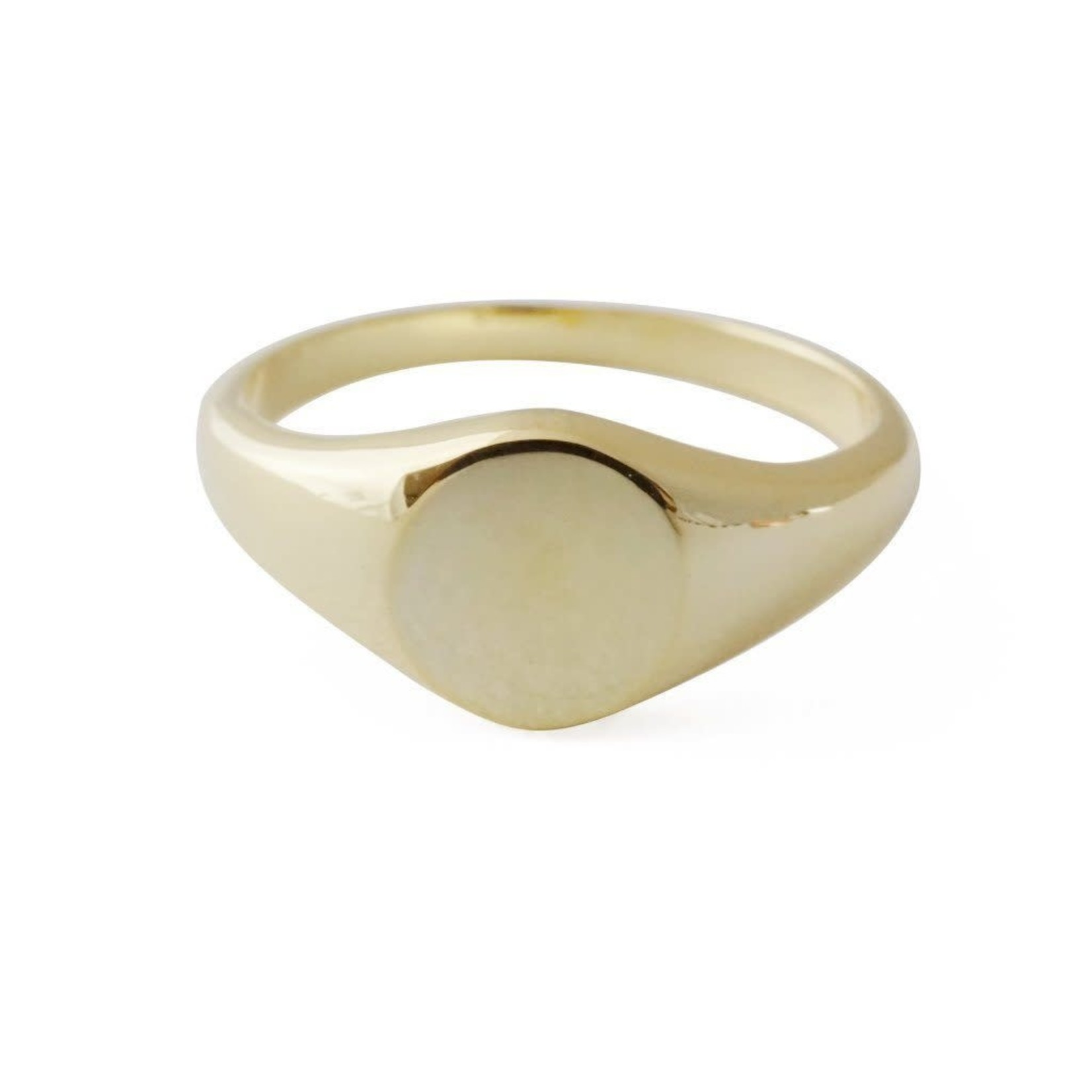 Honeycat Jewelry Honeycat Taylor Signet Ring Gold