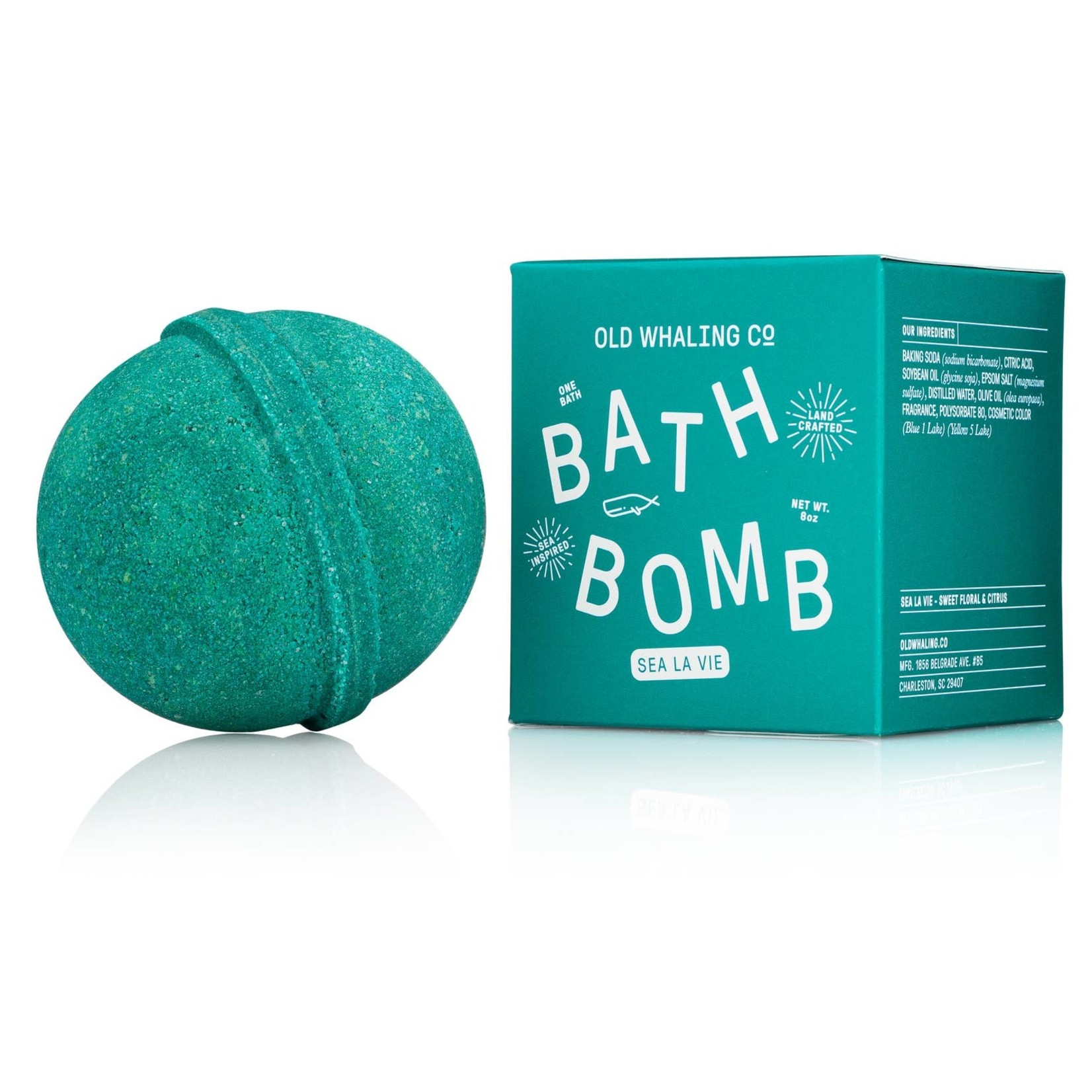 Old Whaling Company Old Whaling Company Bath Bomb Sea La Vie