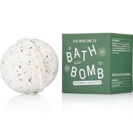 Old Whaling Company Old Whaling Company Bath Bomb Spearmint + Eucalyptus