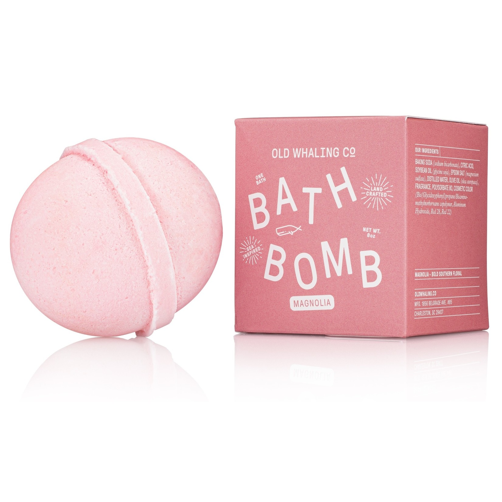 Old Whaling Company Old Whaling Company Bath Bomb Magnolia