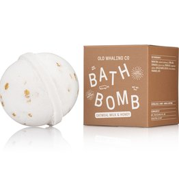 Old Whaling Company Old Whaling Company Bath Bomb Oatmeal Milk + Honey