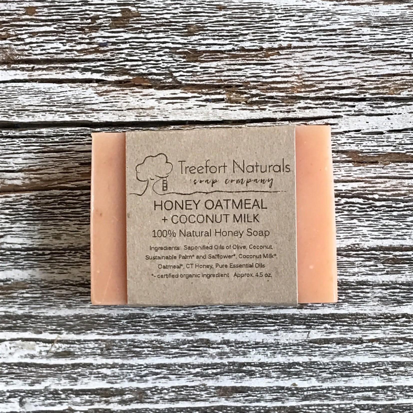 Treefort Naturals Treefort Naturals Honey Oatmeal Soap