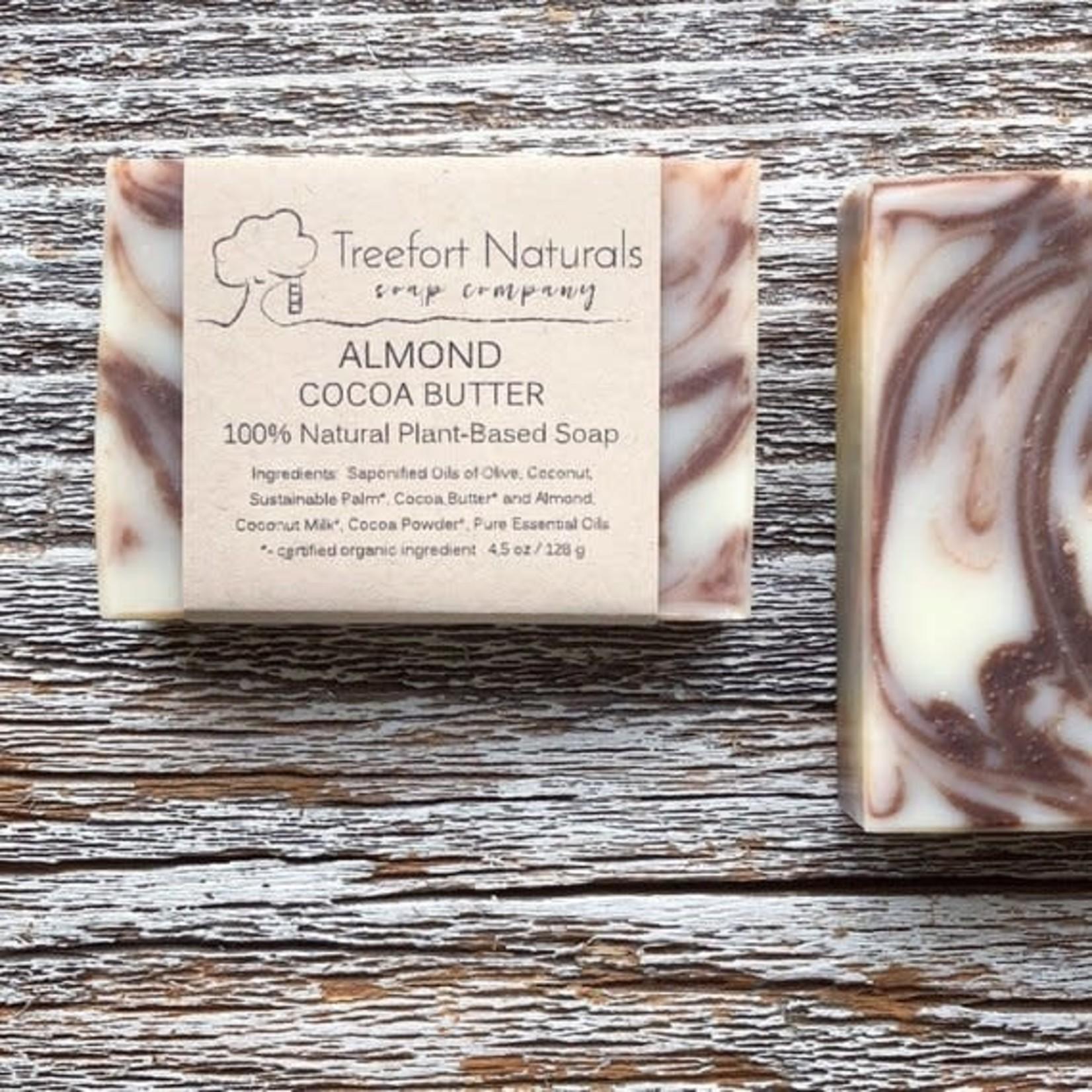 Treefort Naturals Treefort Naturals Almond Cocoa Butter Soap
