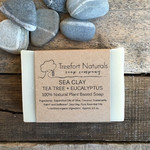 Treefort Naturals Treefort Naturals Sea Clay with Lemon Eucalyptus Soap