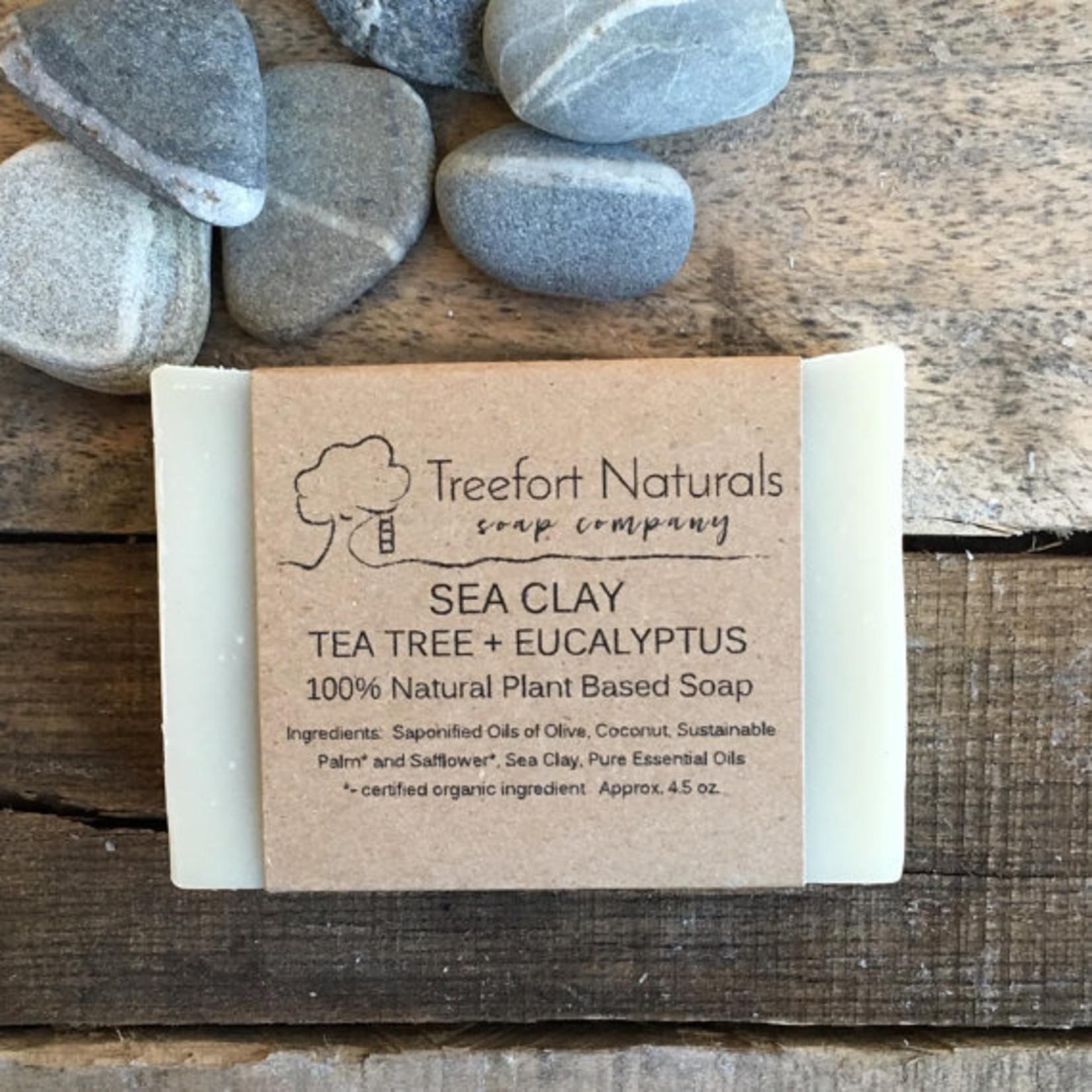 Treefort Naturals Treefort Naturals Sea Clay with Lemon Eucalyptus Soap