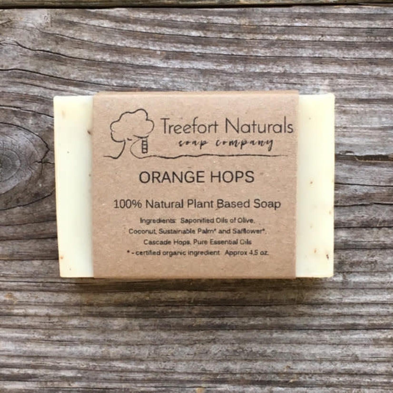 Treefort Naturals Treefort Naturals Orange Hops Soap