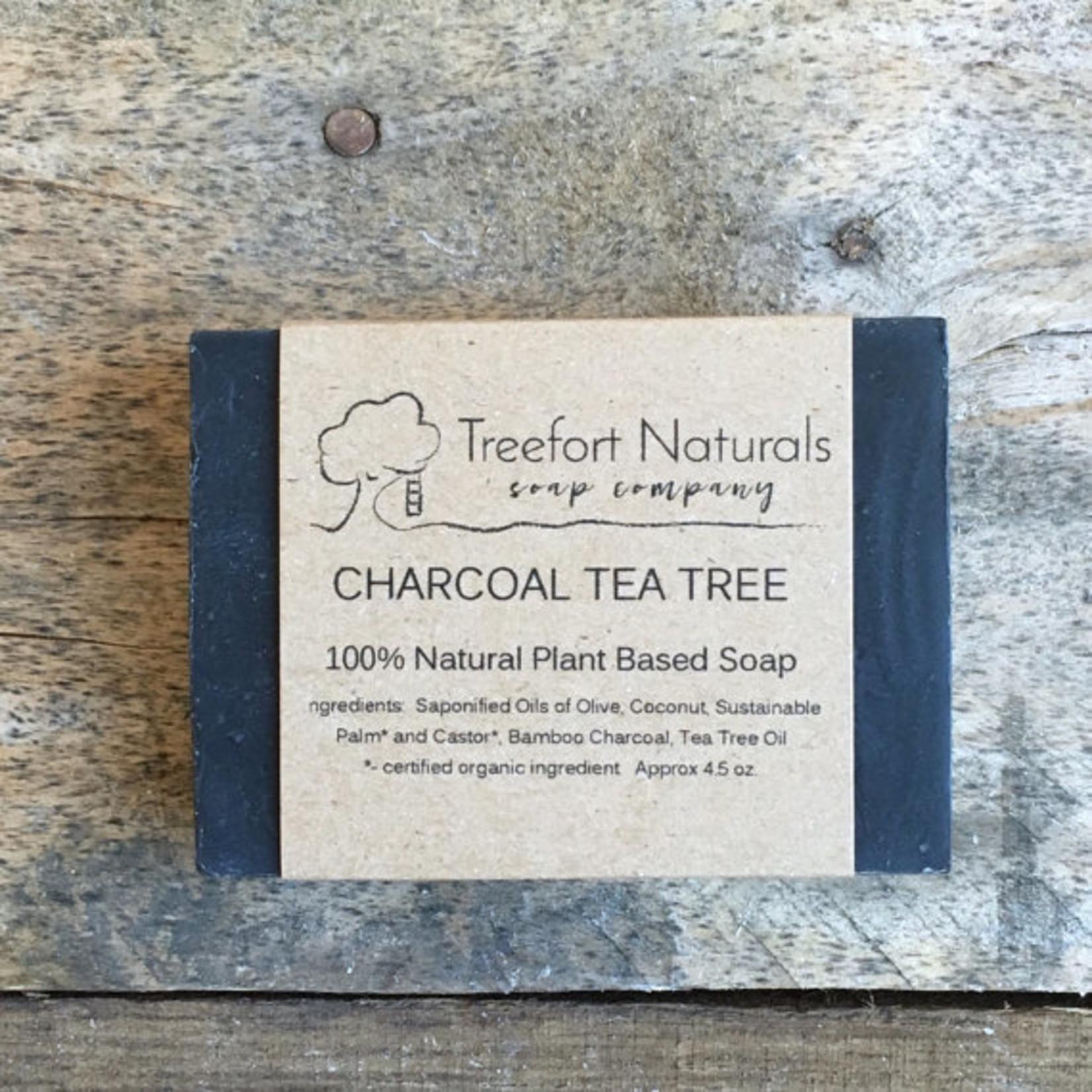 Treefort Naturals Treefort Naturals Charcoal Tea Tree Soap