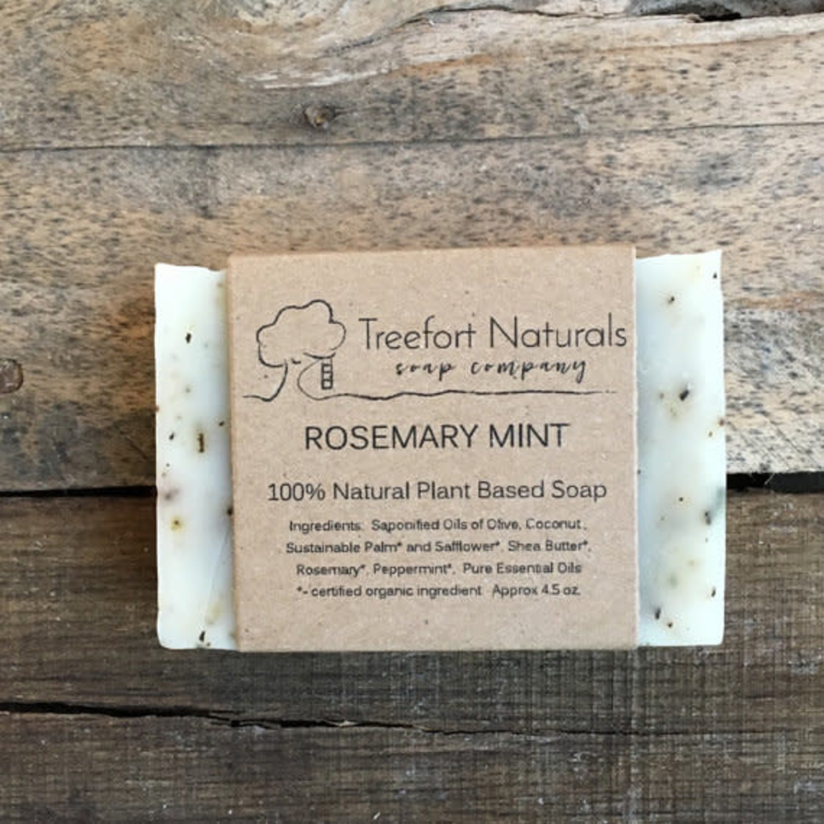 Treefort Naturals Treefort Naturals Rosemary Mint Soap