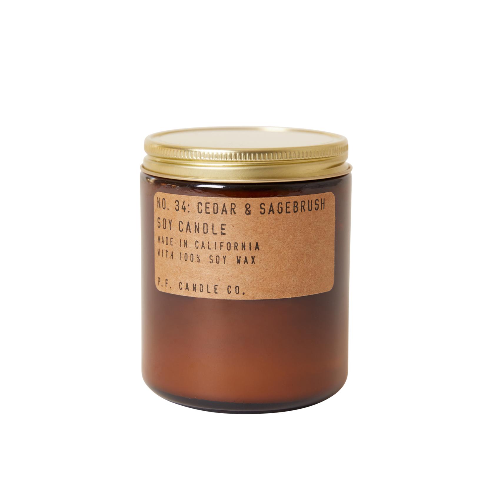 P.F. Candle Co. P.F. Soy Candle 7.2oz Cedar & Sagebrush