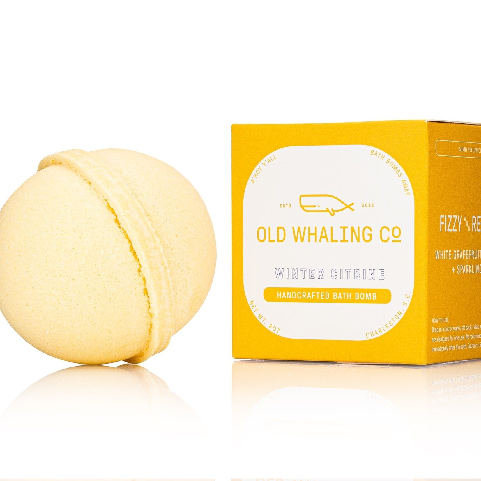 Old Whaling Company Old Whaling Company Winter Citrine Bath Bomb