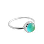 Honeycat Jewelry Honeycat Mini Mood Ring Silver