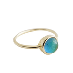 Honeycat Jewelry Honeycat Mini Mood Ring Gold
