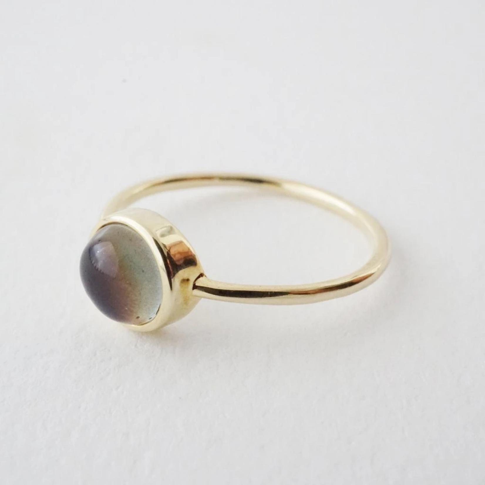 Honeycat Jewelry Honeycat Mini Mood Ring Gold