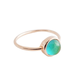 Honeycat Jewelry Honeycat Mini Mood Ring Rose Gold