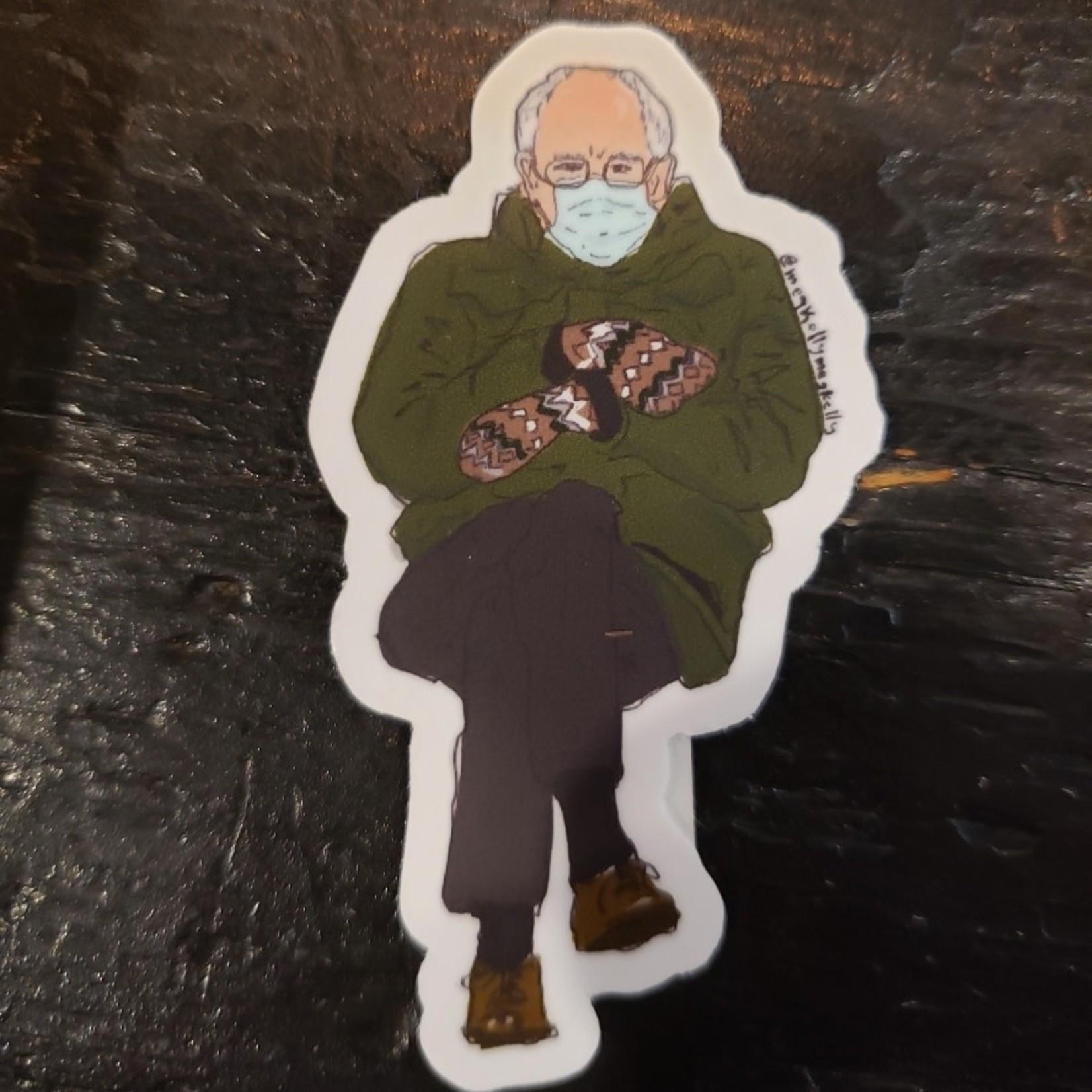 Meg Kelly Meg Kelly Sticker Bernie Sanders