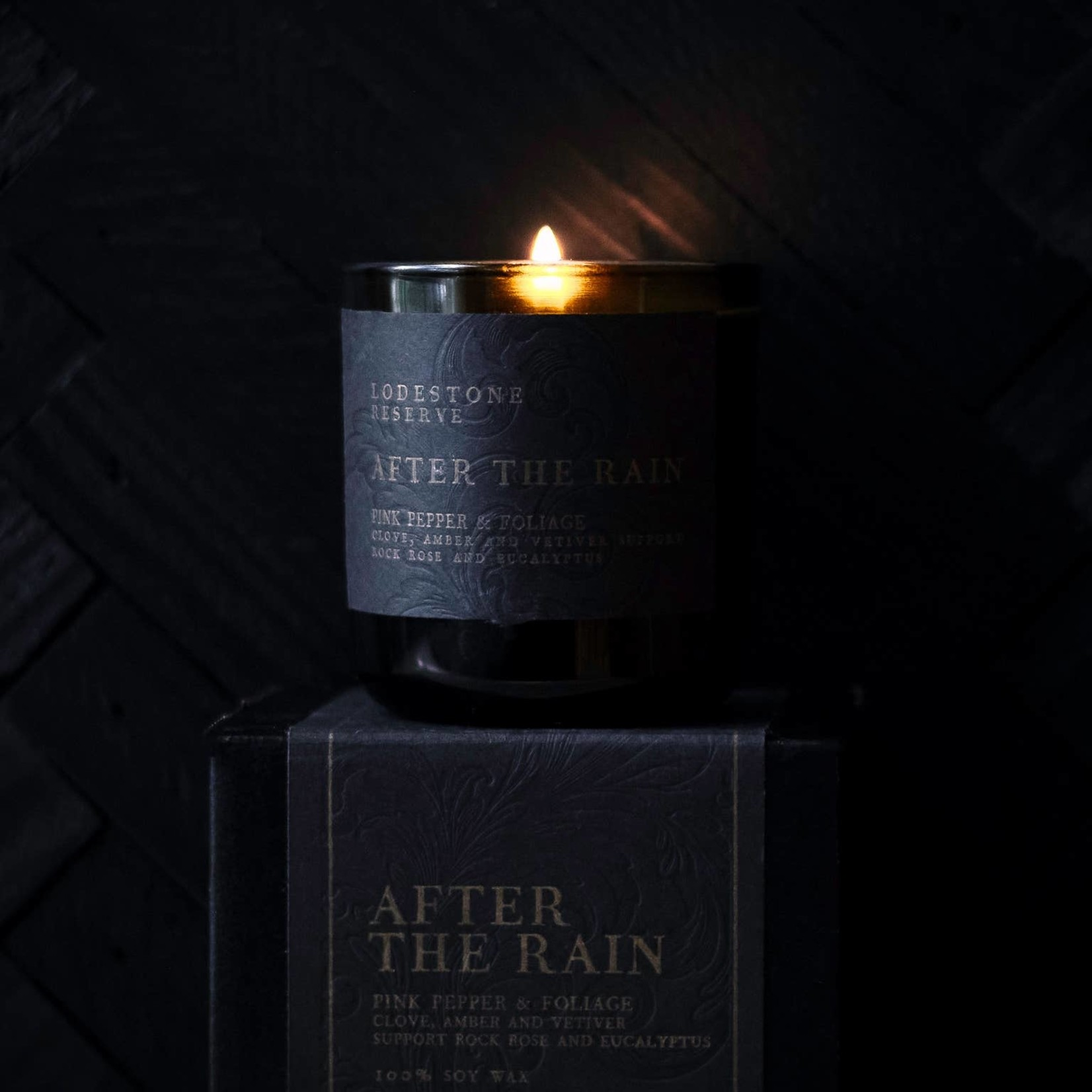 Lodestone Vintage Green Candle After The Rain