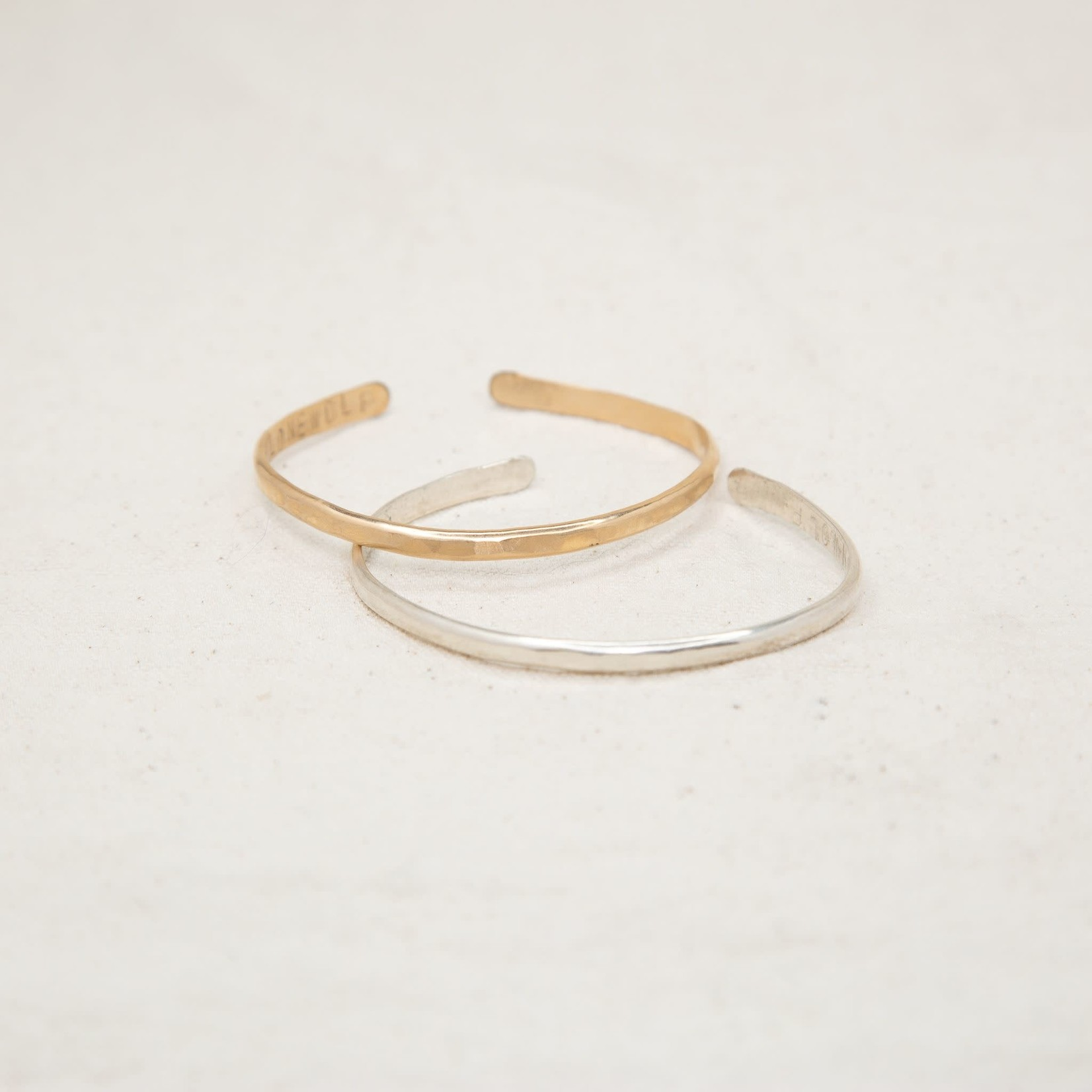 Lonewolf Collective Lonewolf Collective Single Cuff Bracelet (14k Gold Fill)