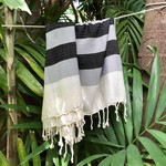Slate + Salt Slate + Salt Plush Stripe Turkish Towel
