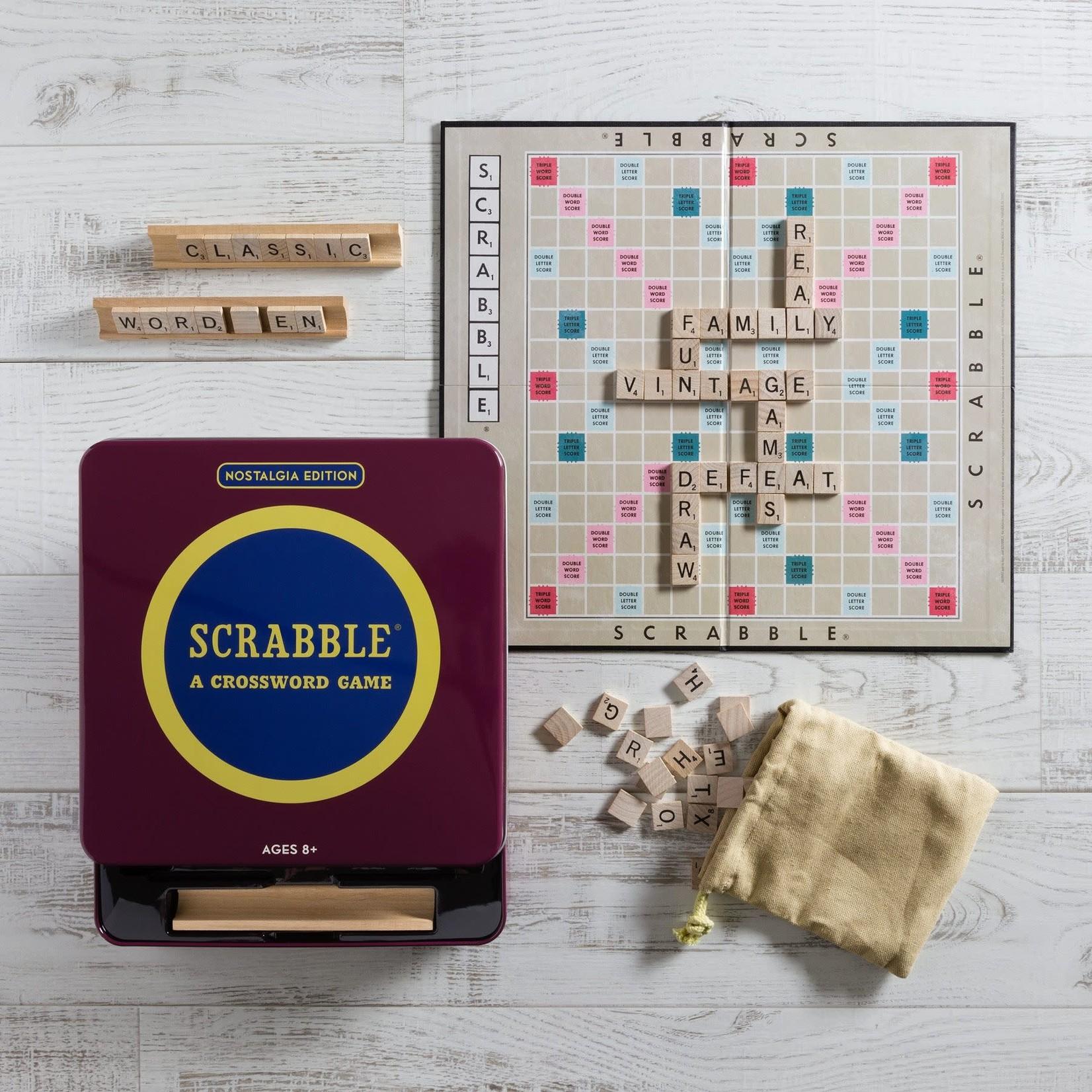 WS Game Company WS NOSTALGIA TIN Scrabble