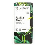 Raaka Raaka Chocolate Bar 68% Vanilla Violet Chocolate Bar - Limited Batch