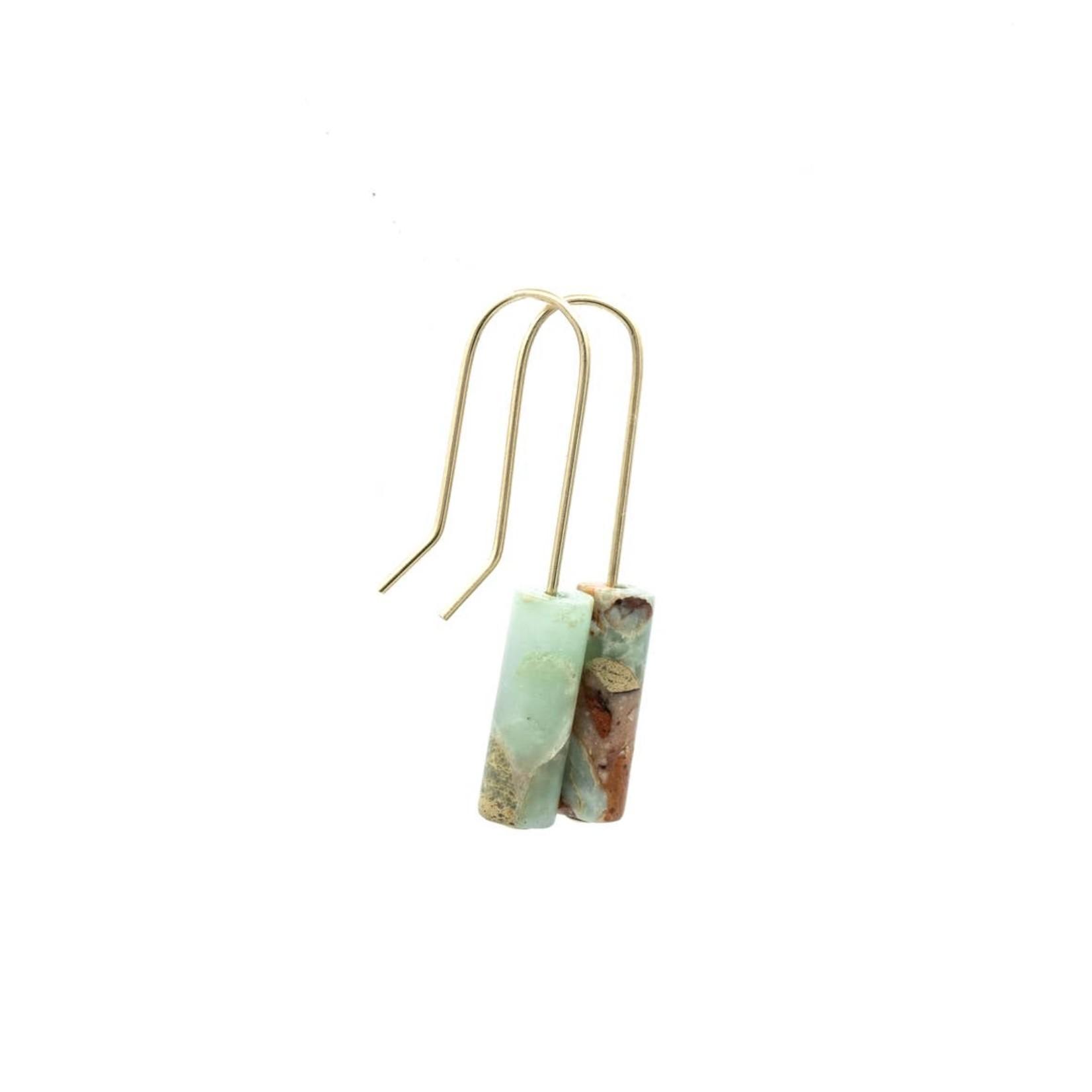 Mana Made Jewelry Mana Made Single Stone Earring Jasper