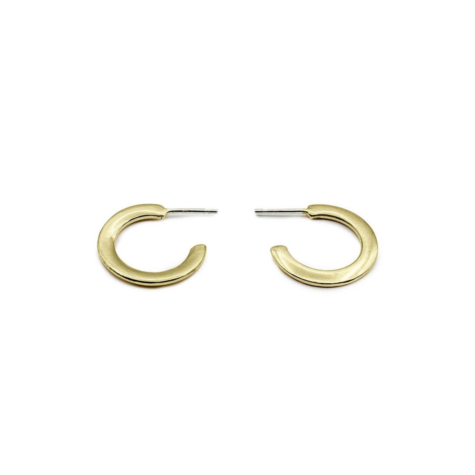 Mana Made Jewelry Mana Made Classic Hoop Earring Brass