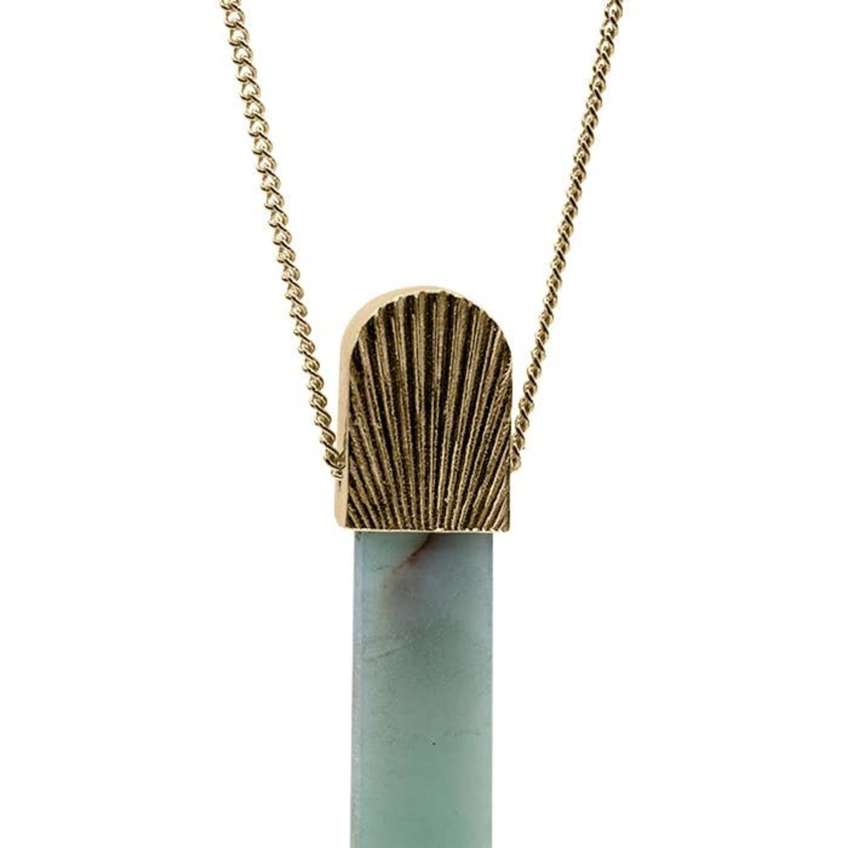 Mana Made Jewelry Mana Made Amazonite Sunburst Necklace