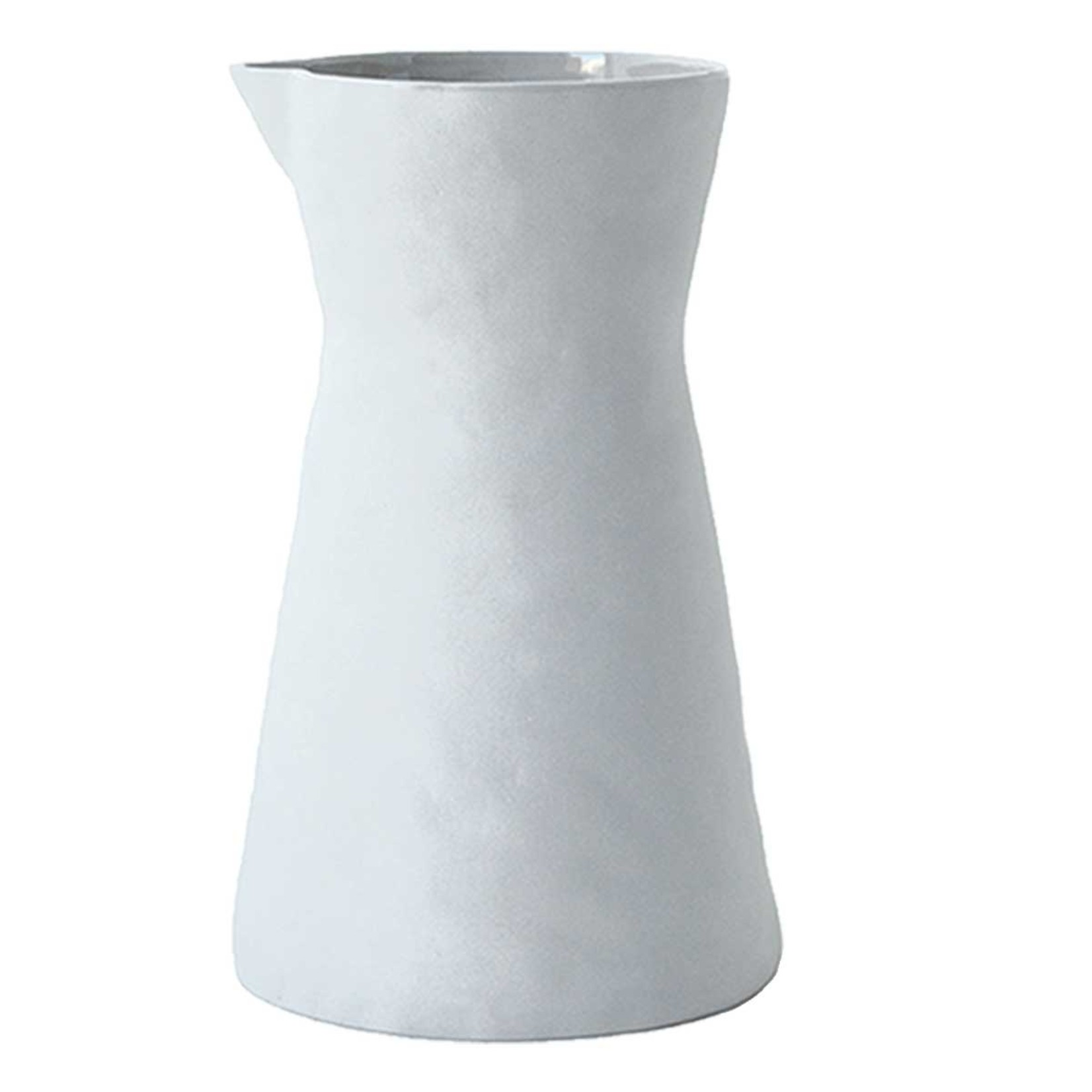 Be Home Be Home - Stoneware Carafe  White