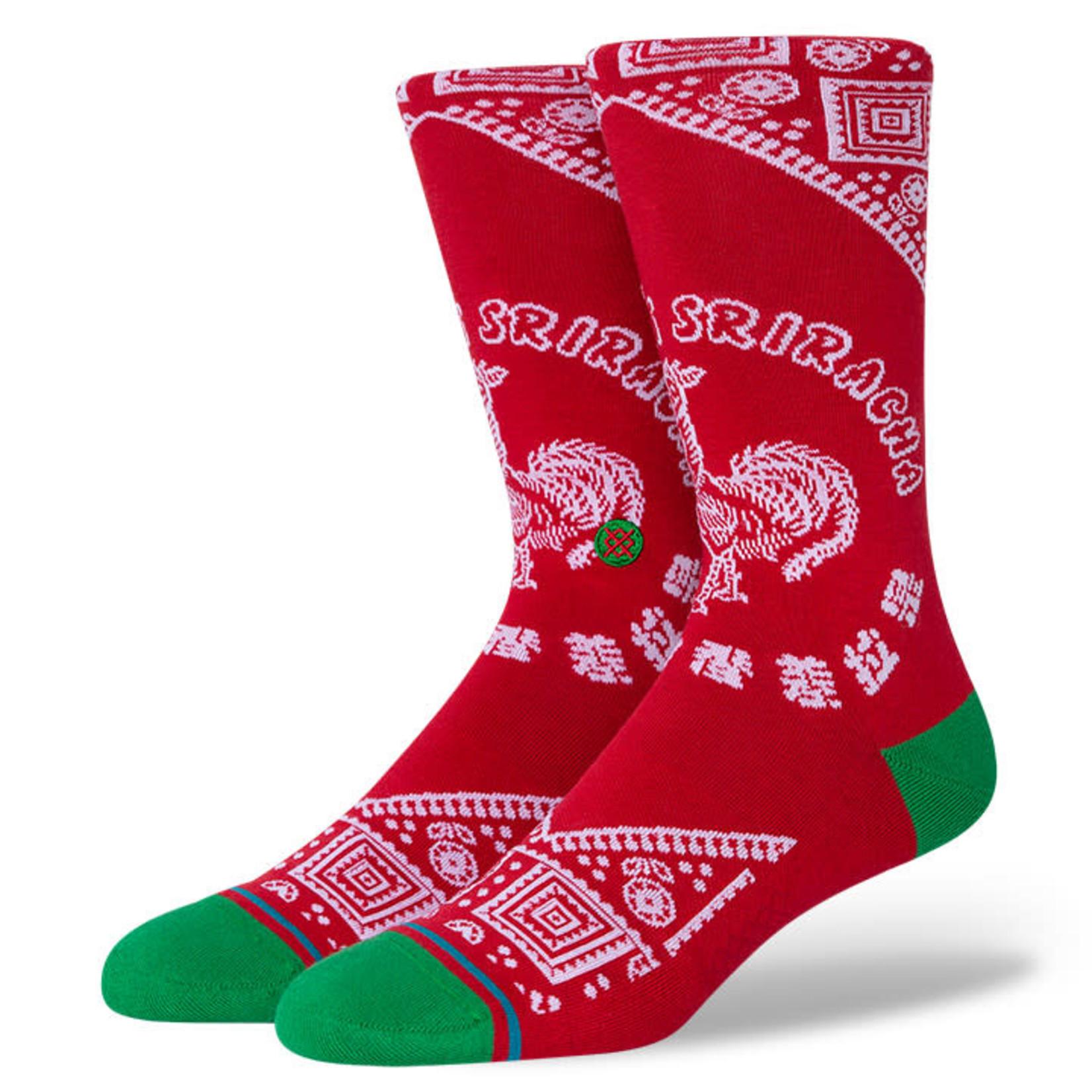 Stance Stance Mens Sock Sriracha L (9-13)