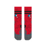 Stance Stance Mens Sock  Cat In The Hat Run - Red L (9-13)