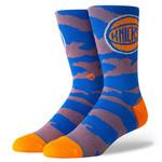 Stance Stance Mens Sock Knicks Camo Melange L (9-13)