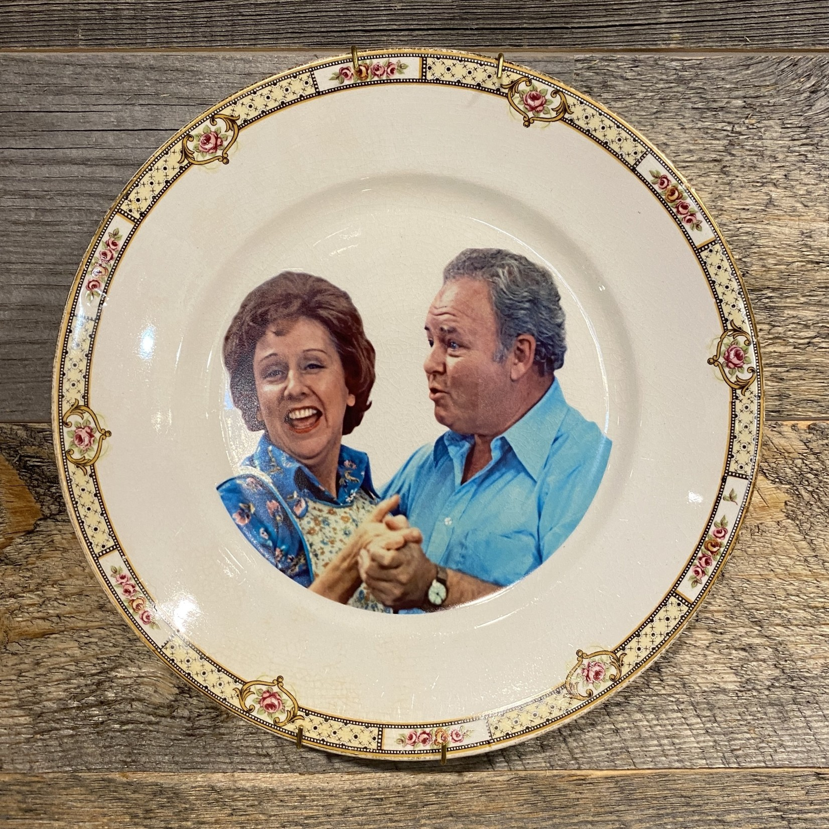 Camp Mercantile Camp Mercantile  Archie and Edith Bunker Plate