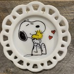 Camp Mercantile Camp Mercantile Snoopy & Woodstock Plate