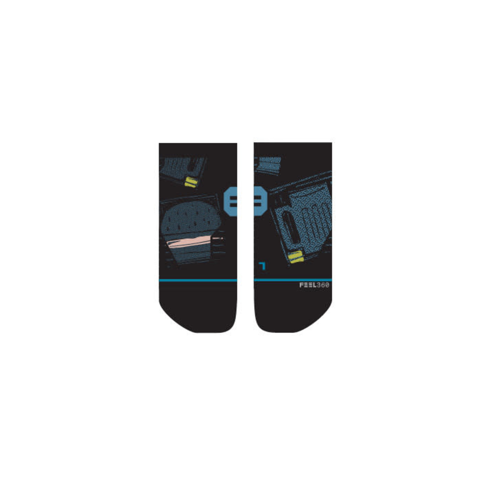 Stance Stance Womens Sock Burgers and Beers tab M (8-10.5)