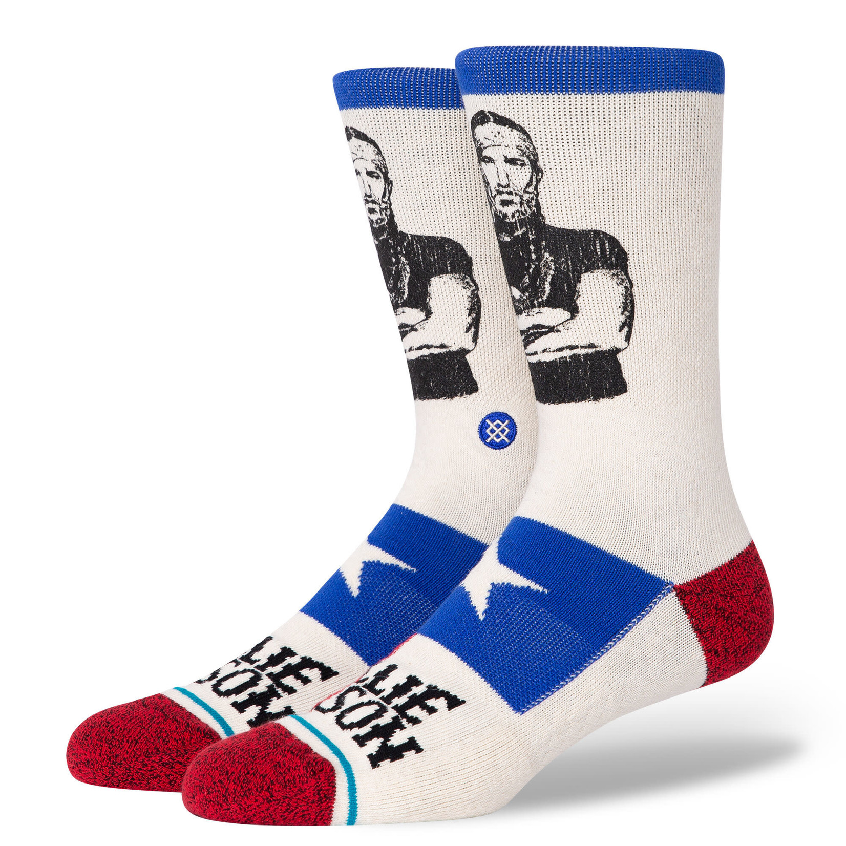 Stance Stance Mens Sock Music Willie Nelson Eagle L (9-13)