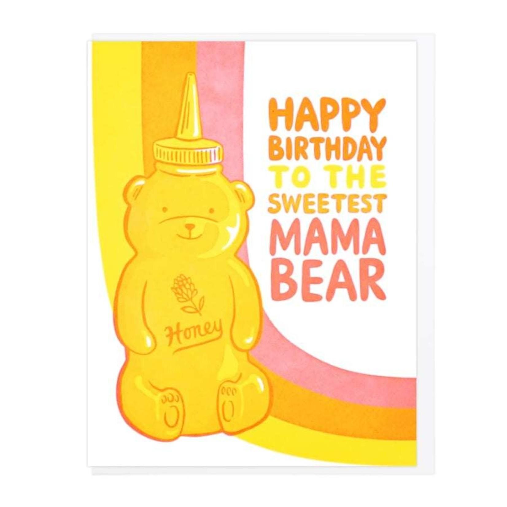Lucky Horse Press Lucky Horse Happy Birthday Sweetest Mama Bear