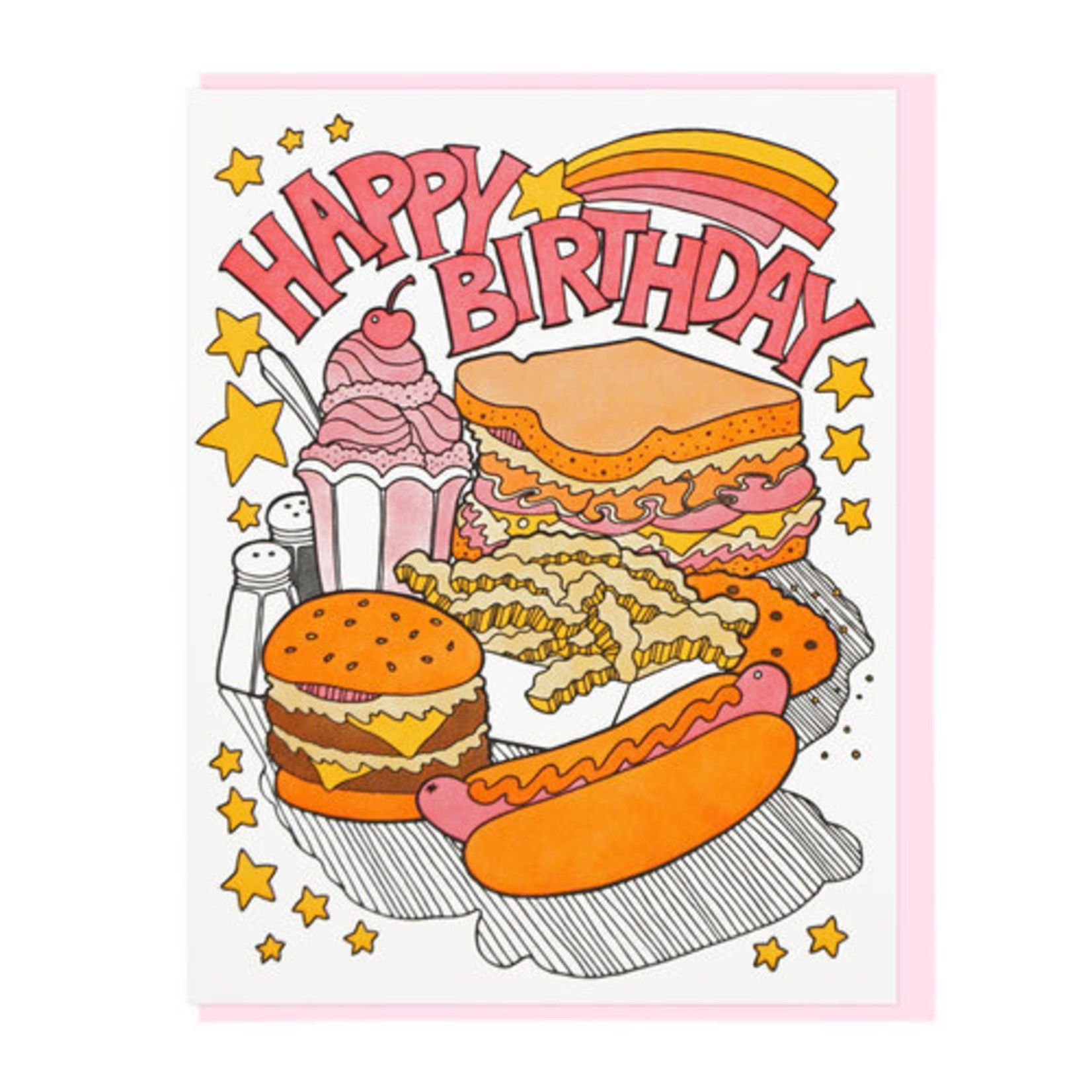 Lucky Horse Press Lucky Horse Birthday Fast Food