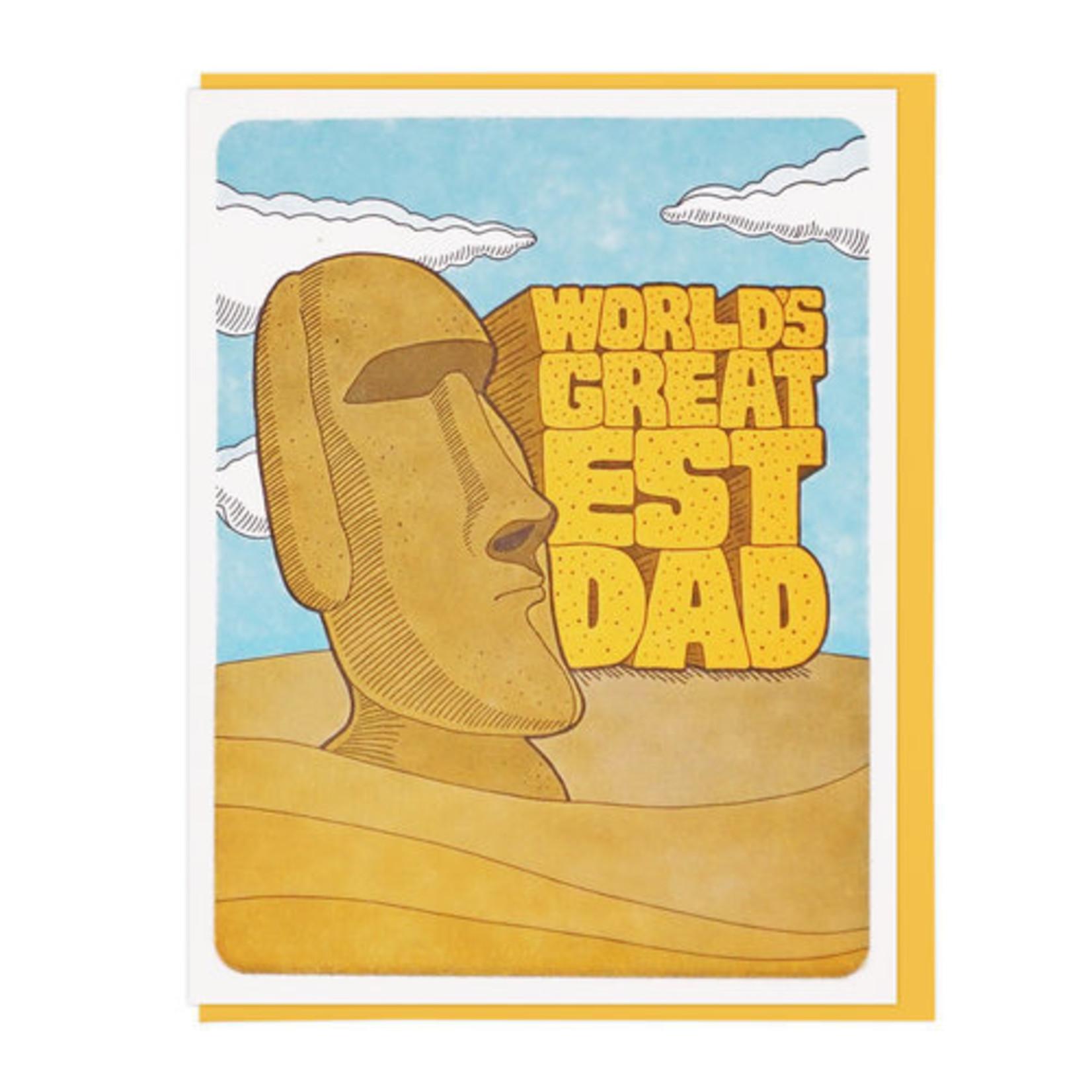 Lucky Horse Press Lucky Horse World's Greatest Dad Moai