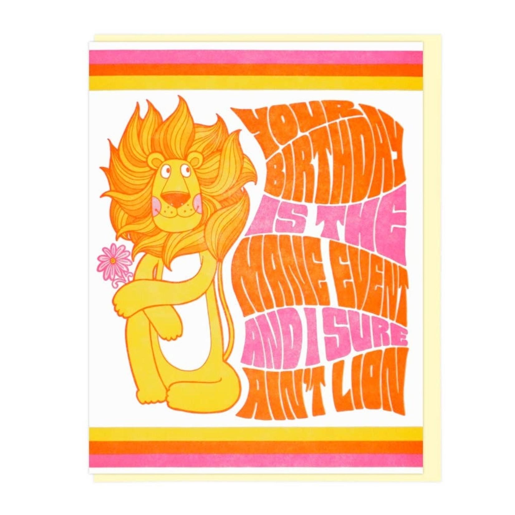 Lucky Horse Press Lucky Horse I Ain't Lion