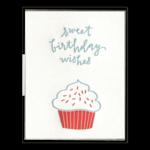 Ink Meets Paper Ink Meets Paper Birthday Cupcake